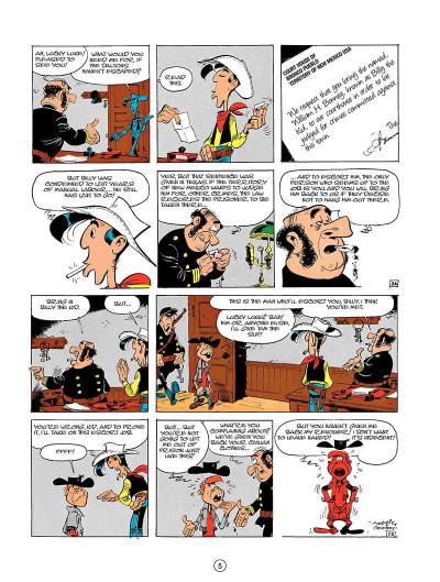 Page 4 Lucky luke tome 18 - the escort (en anglais)