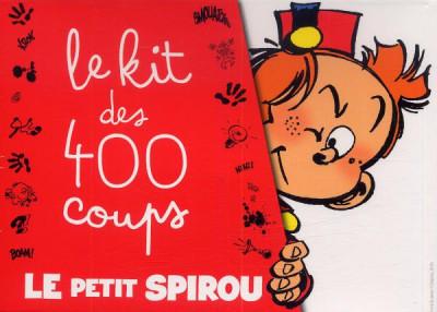 Couverture Le Petit Spirou - Le Kit des 400 Coups