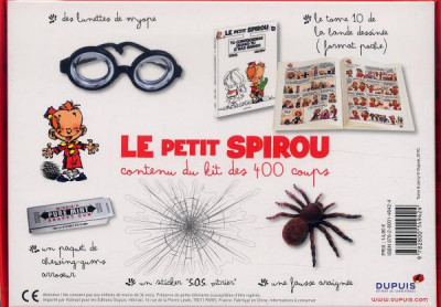 Page 1 Le Petit Spirou - Le Kit des 400 Coups