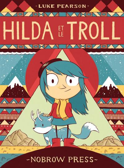 Couverture Hilda T.1 - Hilda et le troll