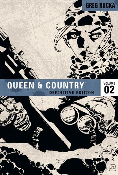 Couverture Queen & Country tome 2 (en anglais)