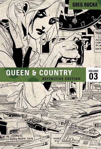 Couverture Queen & Country tome 3 (en anglais)
