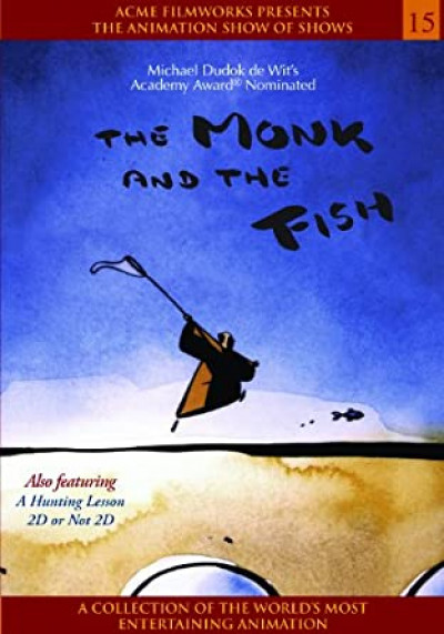 Couverture DVD The Monk And The Fish