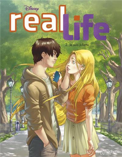 Couverture Real Life tome 2 - Je suis Juliette