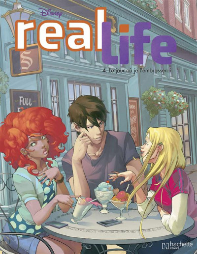 Couverture Real Life tome 4