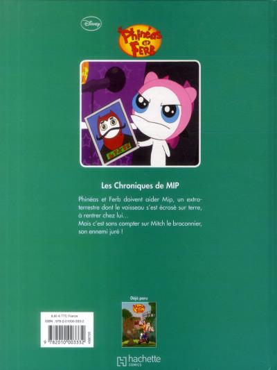 Dos Phineas et Ferb tome 2 - Les Chroniques de MIP