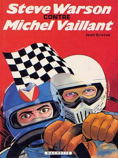 Couverture Michel Vaillant tome 38 - Steve Warson contre Michel Vaillant