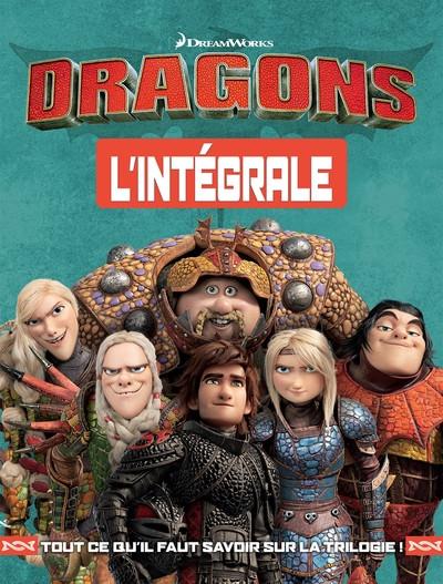 Couverture Dragons - intégrale