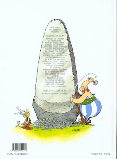 Dos Astérix tome 22 - la grande traversée