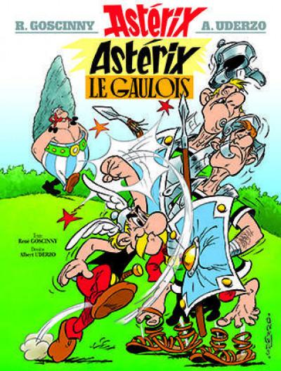 Couverture Astérix tome 1 - astérix le gaulois