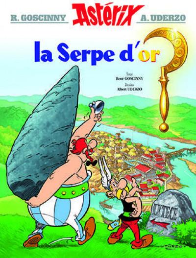Couverture Astérix tome 2 - la serpe d'or