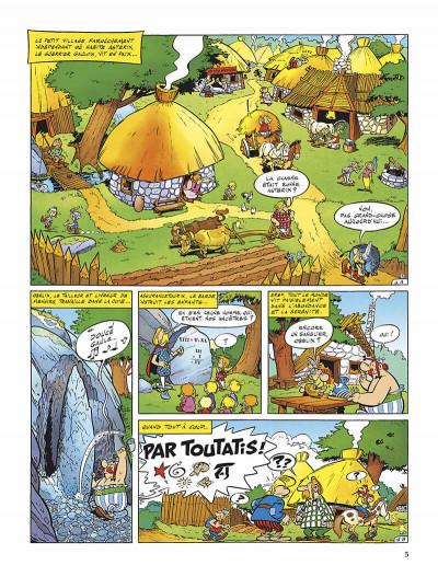 Page 8 Astérix tome 2 - la serpe d'or