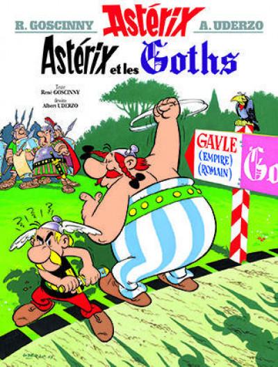 Couverture Astérix tome 3 - astérix chez les goths