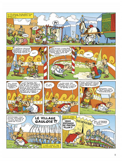 Page 8 Astérix tome 5 - le tour de gaule d'astérix