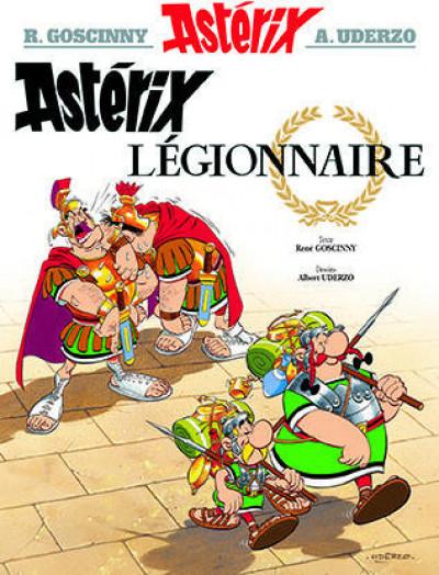 Couverture Astérix tome 10 - astérix légionnaire
