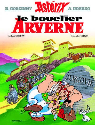 Couverture Astérix tome 11 - le bouclier arverne