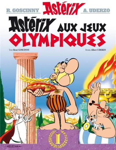 Couverture Astérix tome 12 - astérix aux jeux olympiques