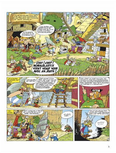 Page 8 Astérix tome 13 - astérix et le chaudron