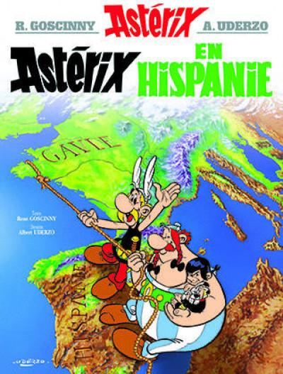 Couverture Astérix tome 14 - astérix en hispanie