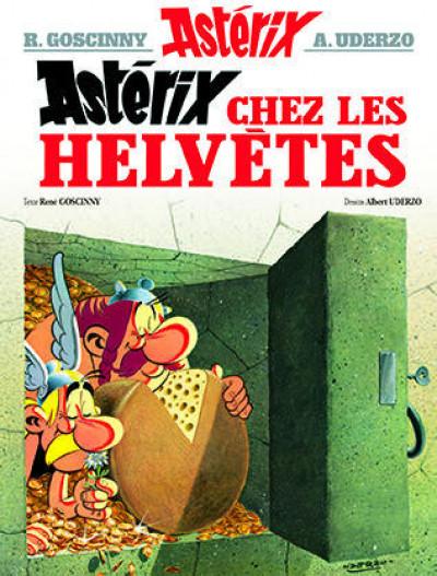 Couverture Astérix tome 16 - astérix chez les helvètes