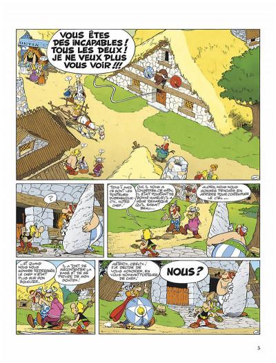 Page 8 Astérix tome 16 - astérix chez les helvètes