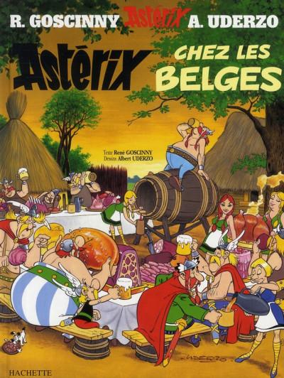 Couverture Astérix tome 24 - astérix chez les belges