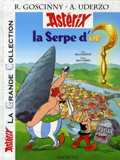 Couverture Astérix tome 2 grande collection - la serpe d'or