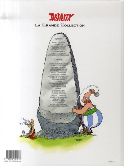 Dos Astérix tome 4 grande collection - gladiateur