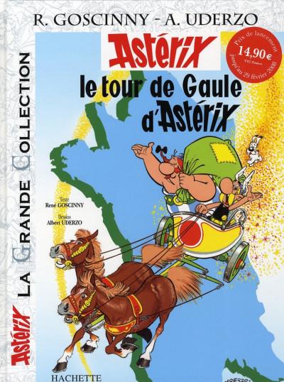 Couverture Astérix tome 5 grande collection - le tour de gaule