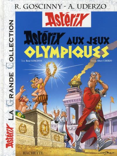 Couverture Astérix tome 12 grande collection - astérix aux jeux olympiques