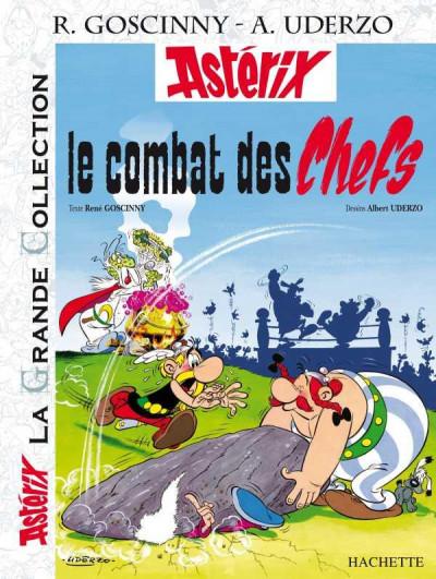 Couverture Astérix tome 7 grande collection - le combat des chefs