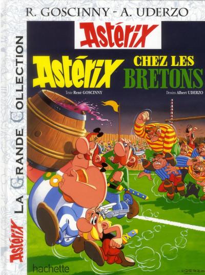 Couverture Astérix tome 8 grande collection - Astérix chez les Bretons