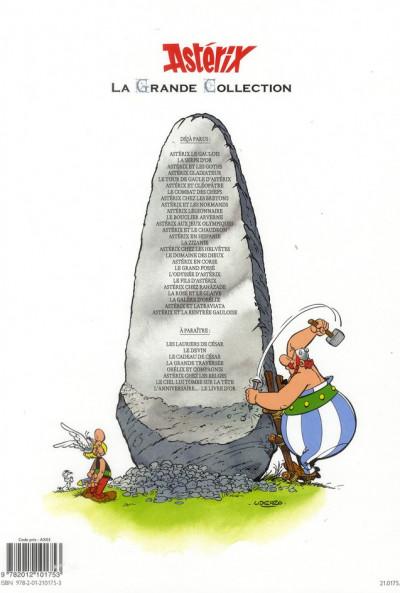 Dos Astérix tome 8 grande collection - Astérix chez les Bretons