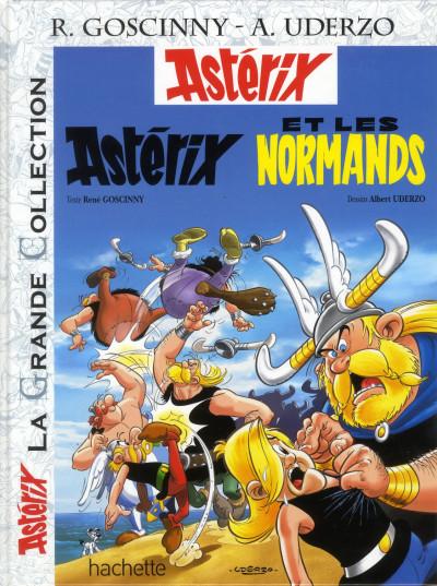 Couverture Astérix tome 9 grande collection - Astérix et les normands