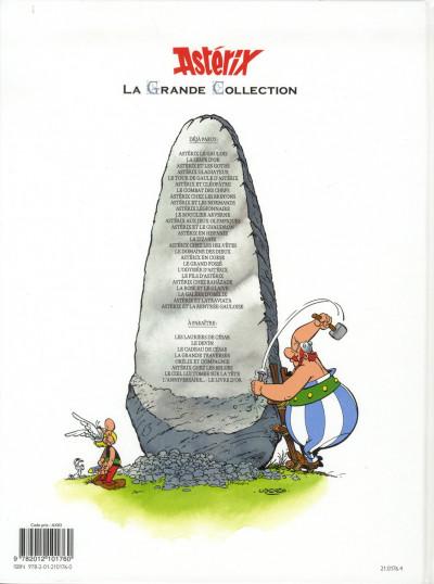 Dos Astérix tome 9 grande collection - Astérix et les normands