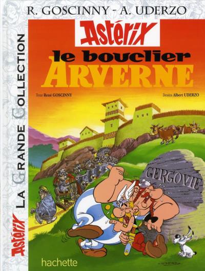 Couverture Astérix tome 11 grande collection - le bouclier arverne