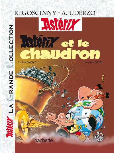 Couverture Astérix tome 13 grande collection - et le chaudron