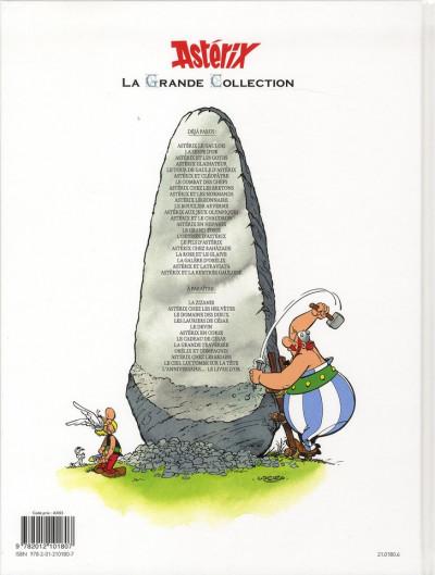 Dos Astérix tome 13 grande collection - et le chaudron