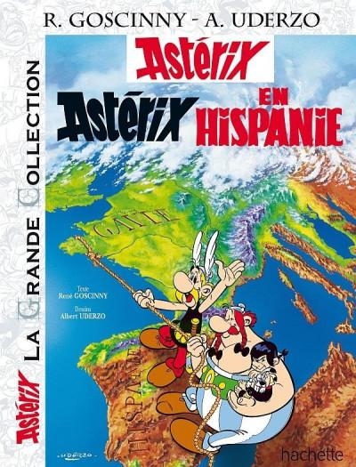 Couverture Astérix tome 14 grande collection - en Hispanie