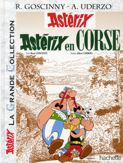 Couverture Astérix tome 20 grande collection - Astérix en Corse