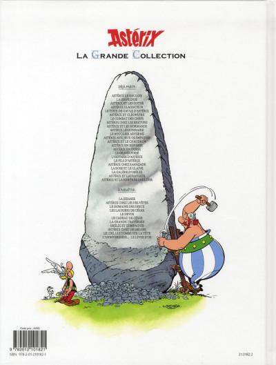 Dos Astérix tome 20 grande collection - Astérix en Corse