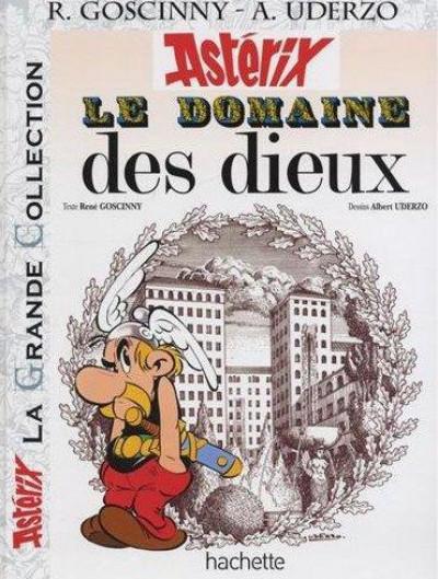 Couverture Asterix tome 17 grande collection - le domaine des dieux