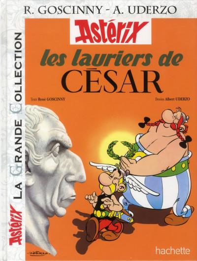 Couverture Astérix tome 18 grande collection - les lauriers de César