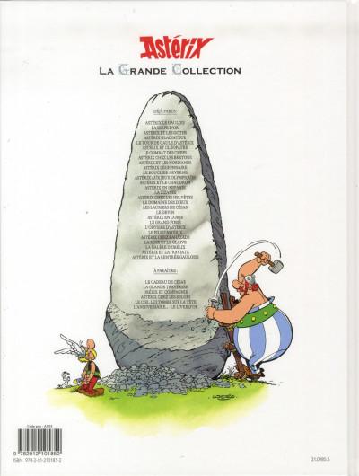 Dos Astérix tome 18 grande collection - les lauriers de César