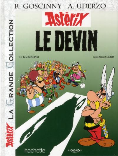 Couverture Astérix tome 19 grande collection - le devin