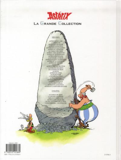 Dos Astérix tome 19 grande collection - le devin