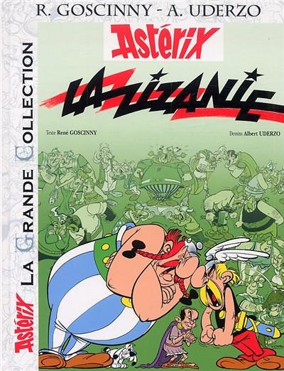 Couverture Asterix tome 15 grande collection - la zizanie