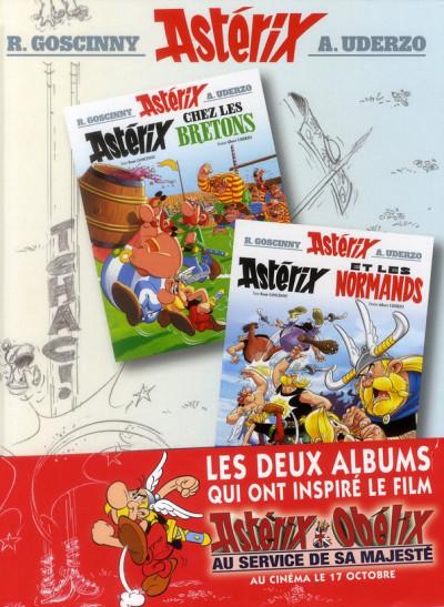 Couverture Astérix chez les Bretons et chez les Normands - album double
