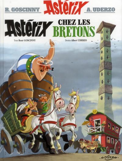 Couverture Astérix tome 8 - Astérix chez les Bretons