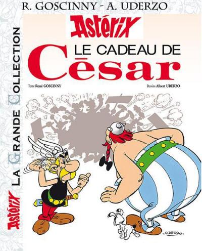 Couverture Astérix tome 21 grande collection - le cadeau de César